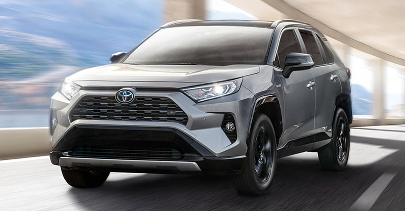New 2021 RAV4 Toyota of Katy