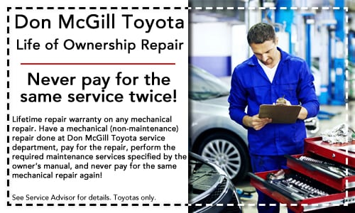 car services toyota repair specials don mcgill toyota of katy. Black Bedroom Furniture Sets. Home Design Ideas