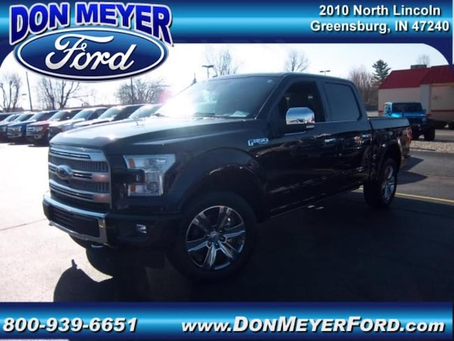 2017 Ford F-150 Platinum Short Bed Crew Cab Truck
