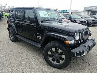 New 2018 Jeep Wrangler UNLIMITED SAHARA 4X4 Sport Utility 187900 for Sale in Madison, WI, at Don Miller Dodge Chrysler Jeep RAM