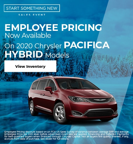 2020 Chrysler Pacifica Hybrid Models