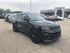 New 2018 Jeep Grand Cherokee TRACKHAWK 4X4 Sport Utility for Sale in Madison, WI, at Don Miller Dodge Chrysler Jeep RAM