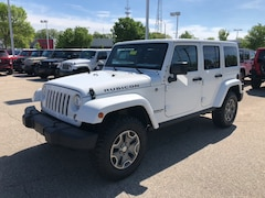 New 2017 Jeep Wrangler JK UNLIMITED RUBICON 4X4 Sport Utility for Sale in Madison, WI, at Don Miller Dodge Chrysler Jeep RAM Fiat