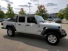 New 2020 Jeep Gladiator Sport Truck Crew Cab 213010A for Sale in Madison, WI, at Don Miller Dodge Chrysler Jeep Ram