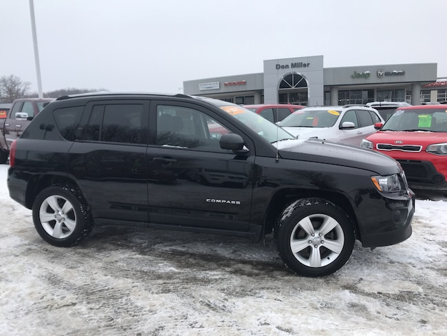 Certified Pre-Owned 2016 Jeep Compass Sport 4x4 SUV Madison WI