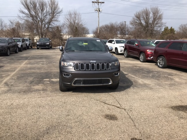 New 2019 Jeep Grand Cherokee LIMITED 4X4 Sport Utility Near Fitchburg