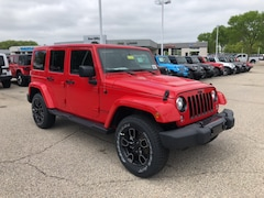 New 2018 Jeep Wrangler Unlimited WRANGLER JK UNLIMITED ALTITUDE 4X4 Sport Utility 187361 for Sale in Madison at Don Miller Dodge Chrysler Jeep Ram