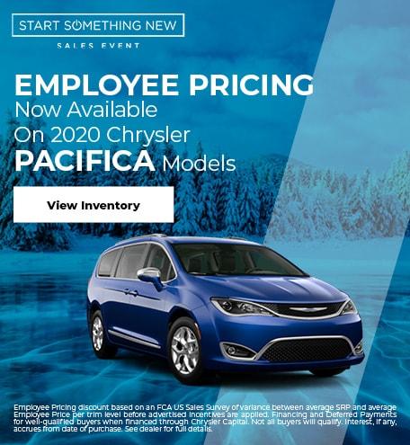 2020 Chrysler Pacifica Models