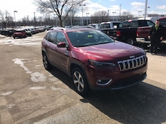 New 2019 Jeep Cherokee LIMITED 4X4 Sport Utility for Sale in Madison, WI, at Don Miller Dodge Chrysler Jeep RAM Fiat