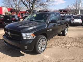 New 2018 Ram 1500 EXPRESS QUAD CAB 4X4 6'4 BOX Quad Cab 485241 for Sale in Madison, WI, at Don Miller Dodge Chrysler Jeep RAM