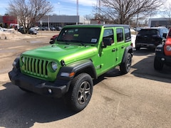 New 2019 Jeep Wrangler UNLIMITED SPORT S 4X4 Sport Utility 198262 for Sale in Madison at Don Miller Dodge Chrysler Jeep Ram