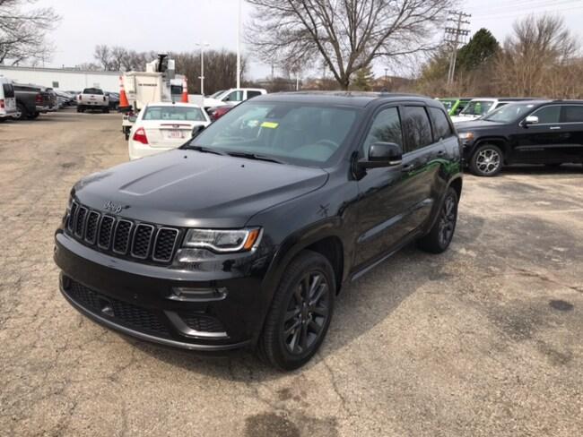 New 2019 Jeep Grand Cherokee HIGH ALTITUDE 4X4 Sport Utility Near Fitchburg