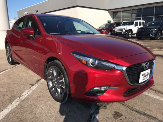 Certified Pre-Owned 2018 Mazda Mazda3 Grand Touring Hatchback for sale in Madison, WI