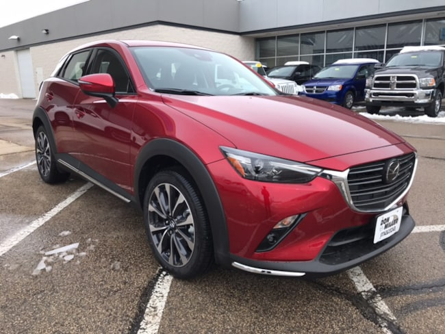 New 2019 Mazda Mazda CX-3 Grand Touring SUV for sale in Madison, WI
