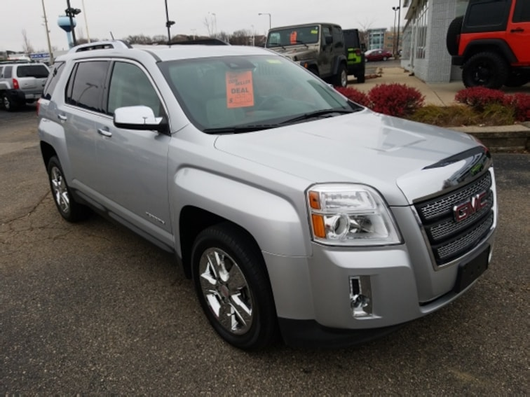 Used 2015 GMC Terrain SLT SUV for sale in Madison, WI