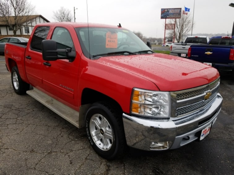Used 2013 Chevrolet Silverado 1500 LT Truck Crew Cab for sale in Madison, WI