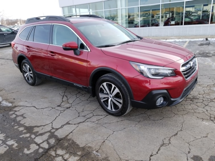 Certified Pre-Owned 2018 Subaru Outback Limited SUV for sale in Madison, WI