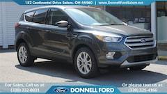 New 2019 Ford Escape SE SUV Youngstown, Ohio