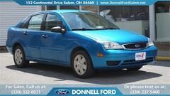 Used 2007 Ford Focus Sedan Salem, Ohio