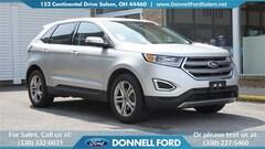 Used 2017 Ford Edge Titanium SUV Salem, Ohio