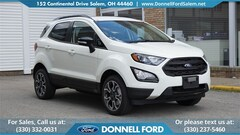 New 2019 Ford EcoSport SES SUV Salem, Ohio