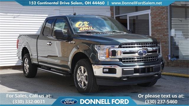 New 2018 Ford F-150 XLT Truck Salem, Ohio
