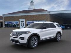 New 2020 Ford Explorer Platinum SUV Salem, Ohio