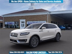 New 2020 Lincoln Nautilus Reserve Crossover For Sale in Salem, OH