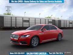 New 2020 Lincoln Continental Standard Car For Sale in Salem, OH