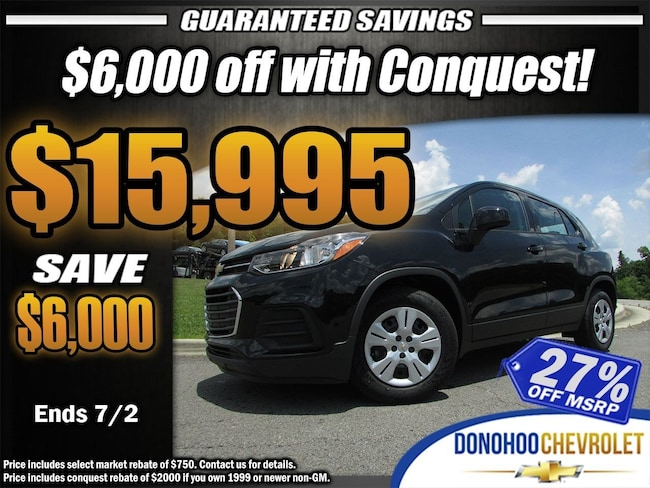 2018 Chevrolet Trax LS SUV in Fort Payne AL