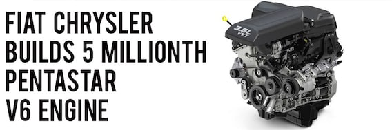 fiat chrysler builds 5 millionth pentastar v6 engine donovan