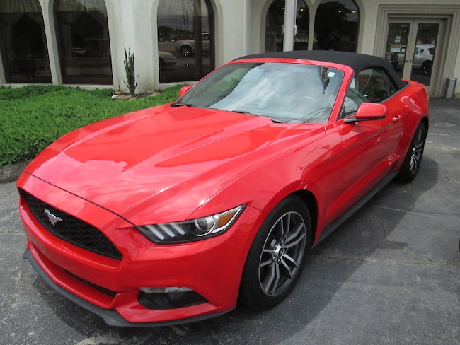 Certified pre Owned 2017 Ford Mustang Ecoboost Premium CONVERTIBLE For Sale Villa Rica, GA
