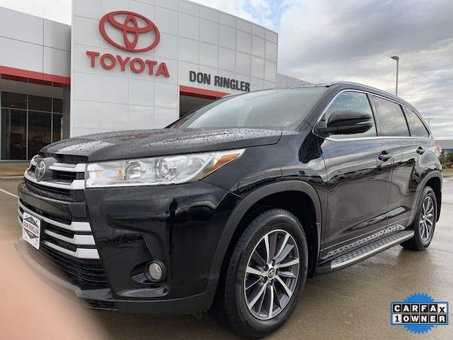 Used 2018 Toyota Highlander XLE SUV for sale in Temple, TX