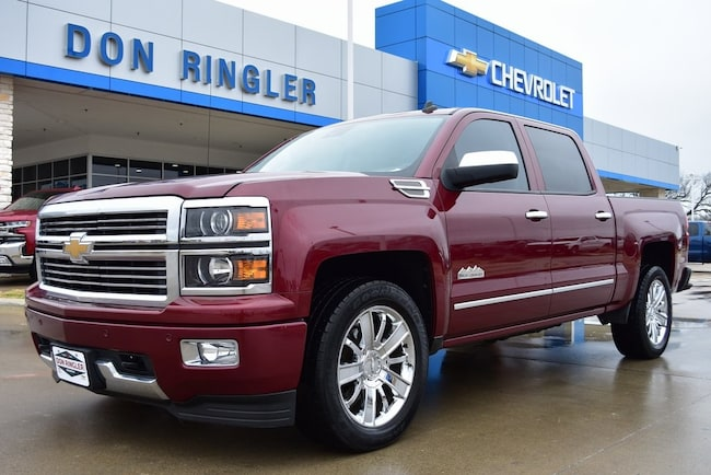Certified 2014 Chevrolet Silverado 1500 High Country Truck for sale in Temple, TX