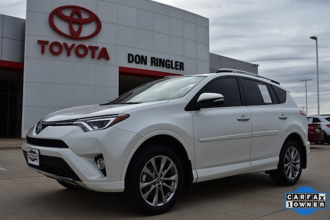 Used 2017 Toyota RAV4 Platinum SUV for sale in Temple, TX
