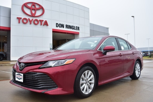 New 2019 Toyota Camry LE Sedan for sale in Temple, TX