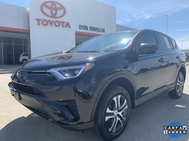 Certified 2018 Toyota RAV4 LE SUV for sale in Temple, TX