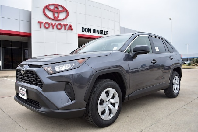 New 2019 Toyota RAV4 LE SUV for sale in Temple, TX