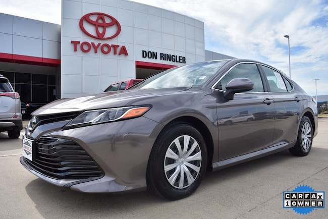 Certified 2018 Toyota Camry L Sedan for sale in Temple, TX