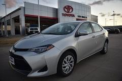 New 2019 Toyota Corolla LE Sedan for sale in Temple TX
