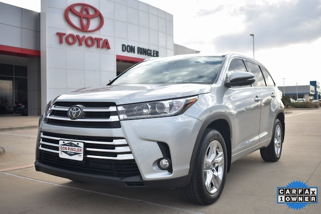 Certified 2018 Toyota Highlander Limited SUV for sale in Temple, TX