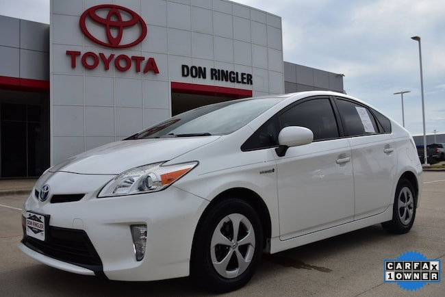 Used 2013 Toyota Prius Four Hatchback for sale in Temple, TX