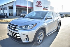 New 2019 Toyota Highlander Hybrid Limited Platinum V6 SUV for sale in Temple TX