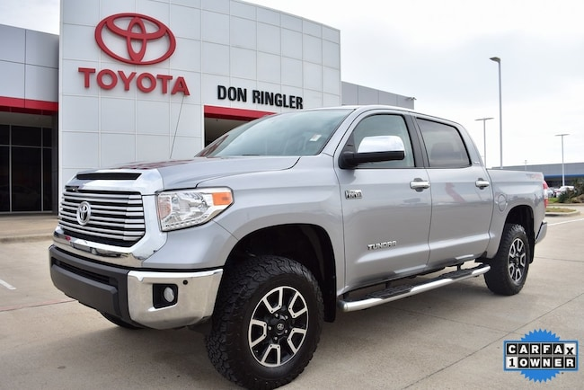 Certified 2017 Toyota Tundra Limited Truck for sale in Temple, TX