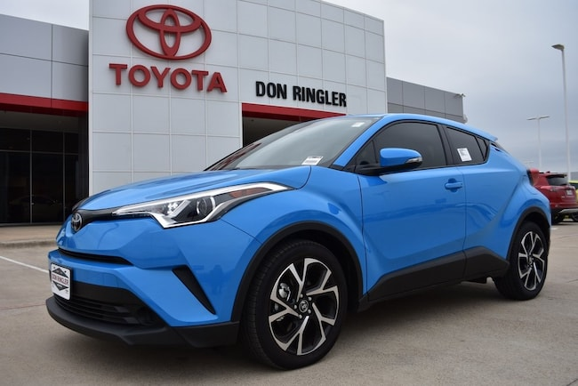 New 2019 Toyota C-HR XLE SUV for sale in Temple, TX