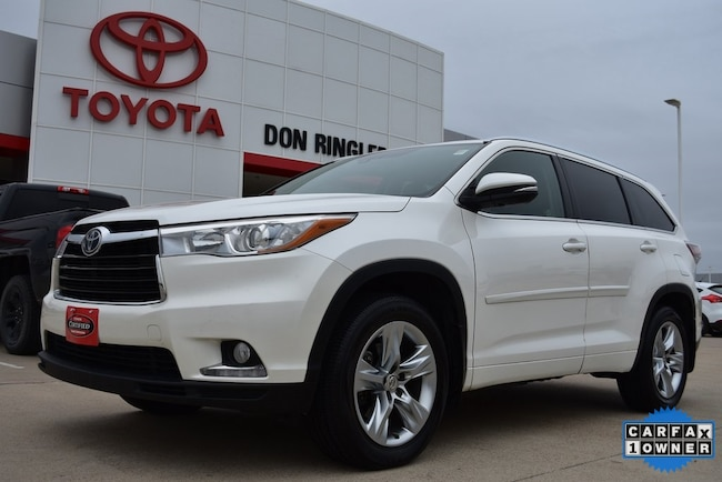 Certified 2015 Toyota Highlander Limited Platinum V6 SUV for sale in Temple, TX