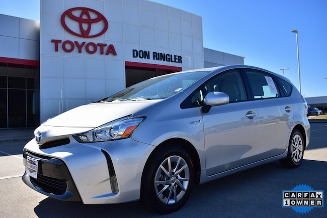 Certified 2016 Toyota Prius v Four Wagon for sale in Temple, TX