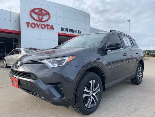 Certified 2017 Toyota RAV4 LE SUV for sale in Temple, TX