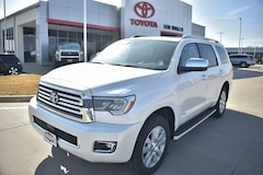 New 2019 Toyota Sequoia Platinum SUV for sale in Temple TX