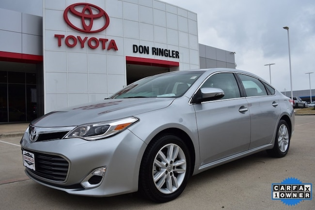 Used 2015 Toyota Avalon XLE Premium Sedan for sale in Temple, TX